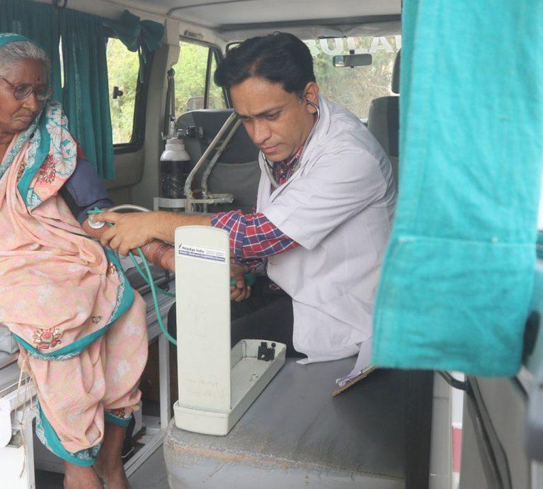 HelpAge India Mobile Healthcare Program for Elders