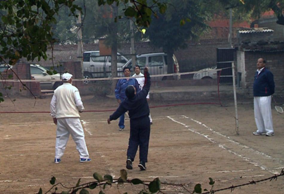 unique Badminton team of Seniors