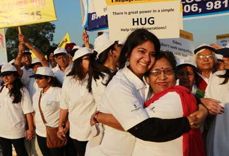 HUG – Help Unite Generations campaign